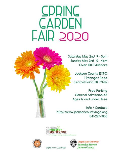 Phoenix Home And Garden Show 2020.Spring Garden Fair Jackson County Master Gardener Association